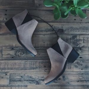 🆕 Vegan Suede Ankle Boots